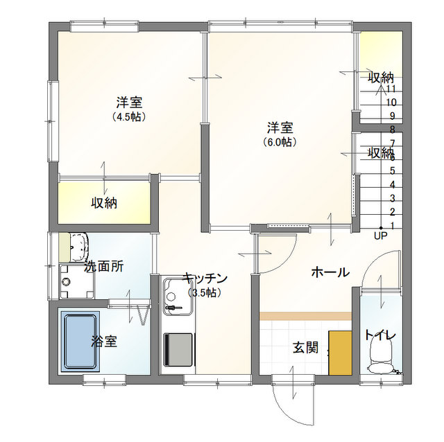 YK101号室(1階)