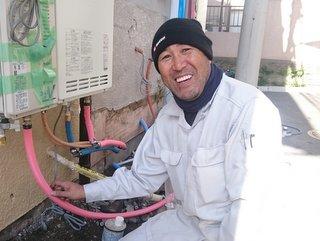 給排水設備工事 相川尊