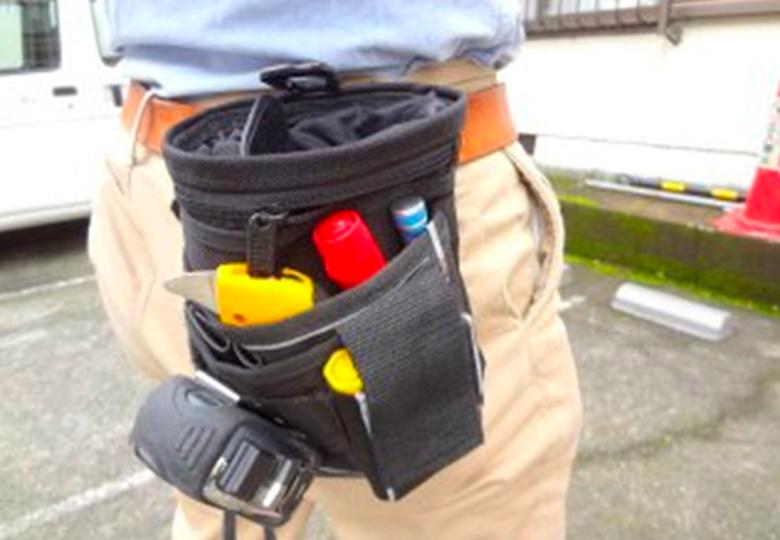 現場道具の一例
